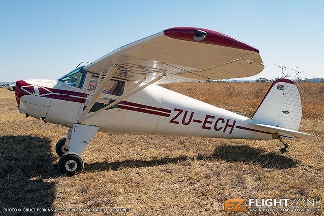 Luscombe 8A ZU-ECH Nylstroom Airfield FANY
