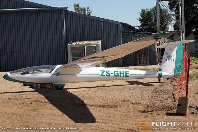 Blanik Glasflugel BS-1 Glider ZS-GHE Parys Airfield FAPY