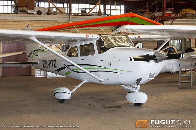 Cessna 182 Skylane ZS-PTZ Parys Airfield FAPY
