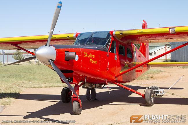 Parker AB and Van Beusekom C Apollo T Lockheed Aermacchi AL-60 Trojan Turbi
