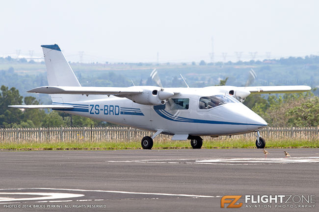 Partenavia P-68 TC ZS-BRD Grand Central Airport FAGC