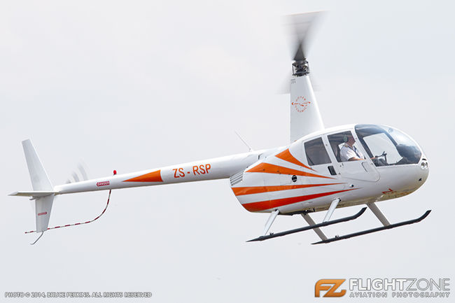 Robinson R44 ZS-RSP Grand Central Airport FAGC