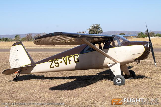 Luscombe 8E ZU-VFG Nylstroom Airfield FANY
