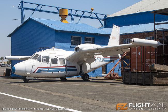 Piaggio P166S Albatross ZS-NKN Rand Airport FAGM