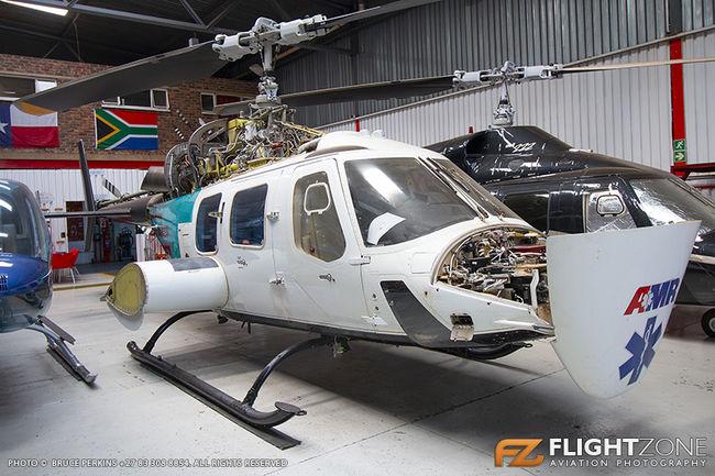 Bell 222 UT N222UT Rand Airport FAGM