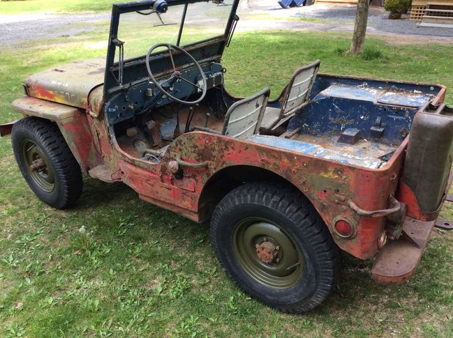 Willys Jeep For Sale >> 1942 script gpw for sale - G503 Military Vehicle Message Forums
