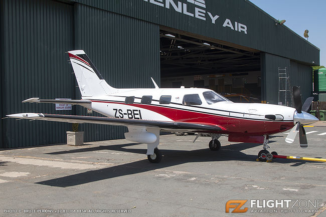 Piper PA-46 Meridian ZS-BEI Rand Airport FAGM