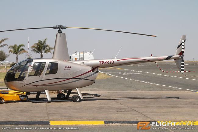 Robinson R-44 ZS-RTO Rand Airport FAGM