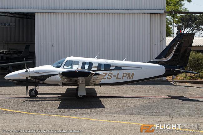 Piper PA-34 Seneca ZS-LPM Rand Airport FAGM
