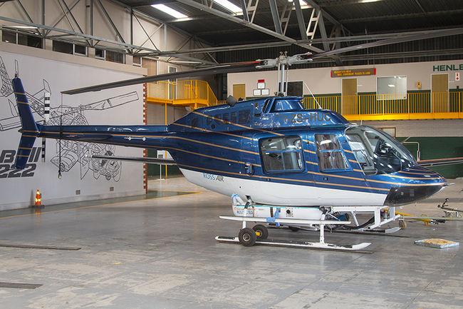 Bell 206B Jet Ranger ZS-HUC Rand Airport FAGM