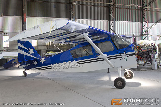 Super Decathlon N199SA Rand Airport FAGM