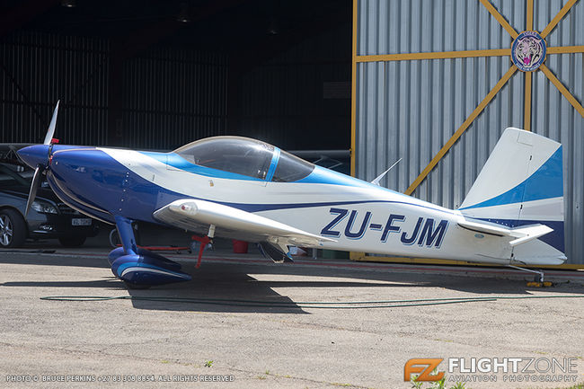 Vans RV-7 ZU-FJM Rand Airport FAGM
