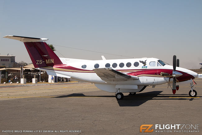Beechcraft King Air 200 ZS-MIN Rand Airport FAGM