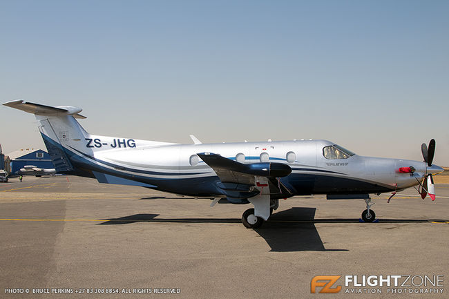 Pilatus PC-12 ZS-JHG Rand Airport FAGM