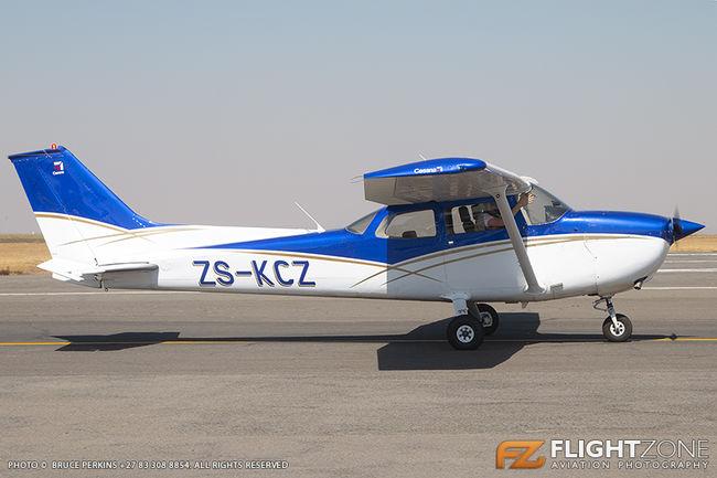Cessna 172 Skyhawk ZS-KCZ Rand Airport FAGM