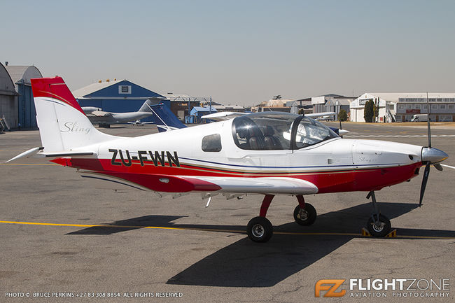 The Aeroplane Factory D6 Sling ZU-FWN Rand Airport FAGM