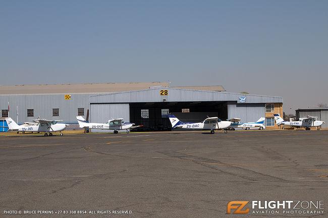 Cessna 172 Skyhawk ZS-IYW ZS-DAC ZS-OUZ ZS-FNH ZS-JUO Rand Airport FAGM