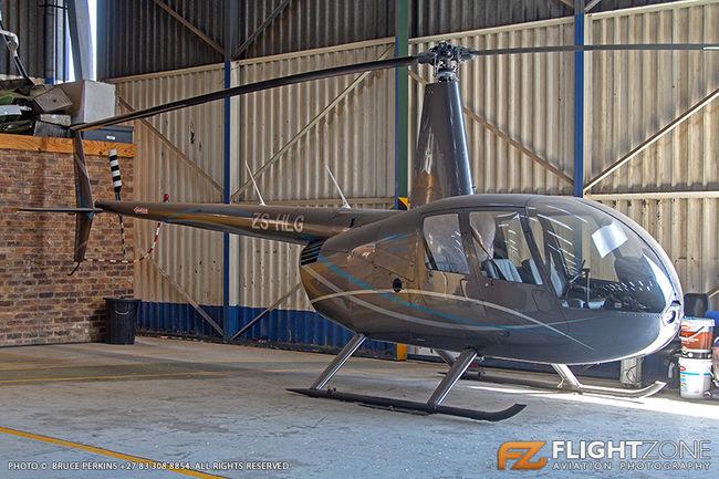 Robinson R44 ZS-HLG Rand Airport FAGM