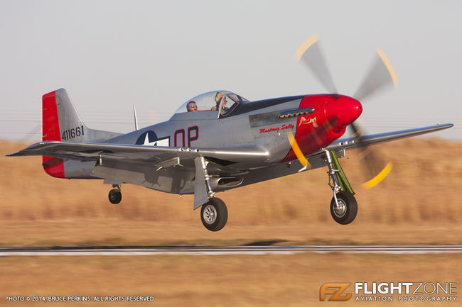 North American P-51D Mustang N72FT Rand Airport FAGM