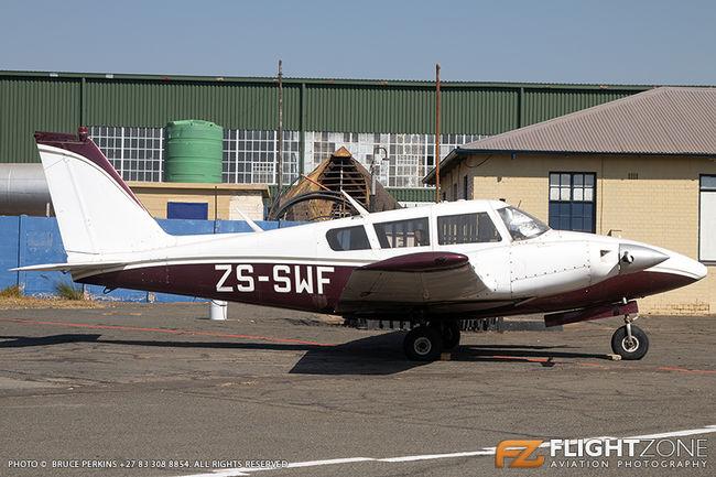 Piper PA-30 Twin Comanche ZS-SWF Rand Airport FAGM