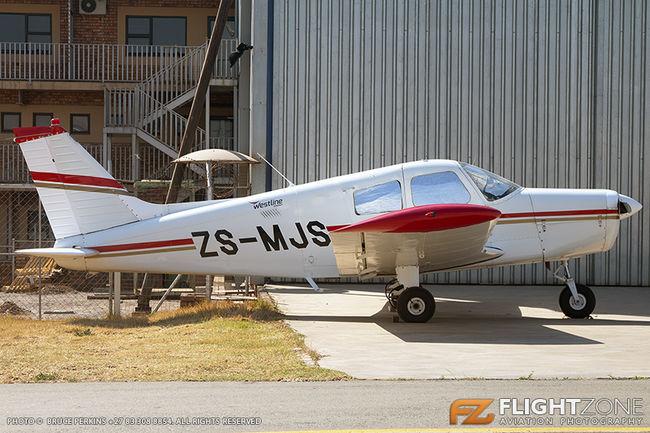 Piper PA-28 Cherokee ZS-MJS Rand Airport FAGM