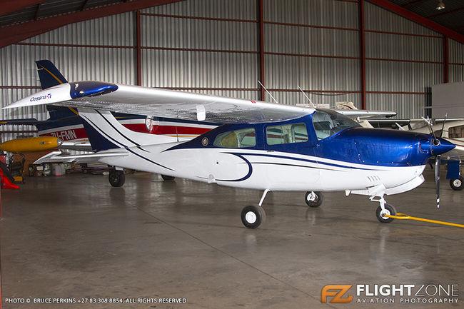 Cessna 210 Centurion ZS-MED Rand Airport FAGM