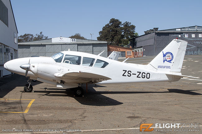 Piper PA-23 Aztec ZS-ZGO Rand Airport FAGM