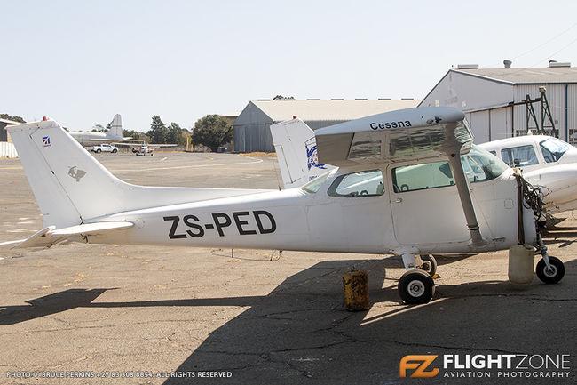 Cessna 172 Skyhawk ZS-PED Rand Airport FAGM