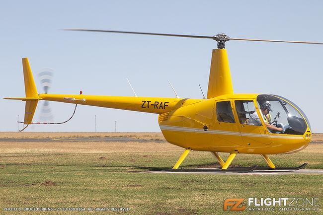 Robinson R44 ZT-RAF Rand Airport FAGM