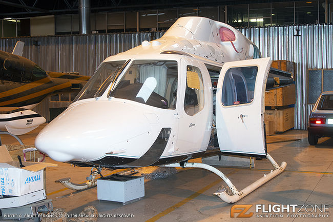 Bell 222 UT N222RX Rand Airport FAGM