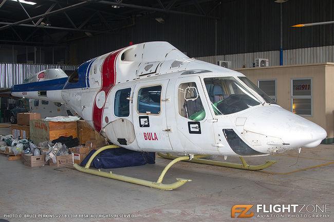 Bell 222 UT N622F Rand Airport FAGM C/N 47543