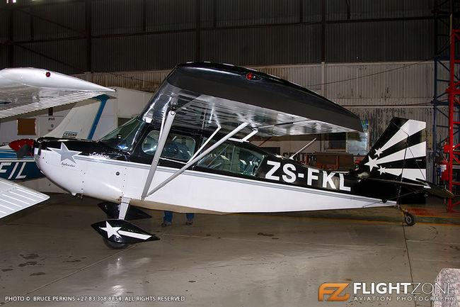 Citabria ZS-FKL Rand Airport FAGM