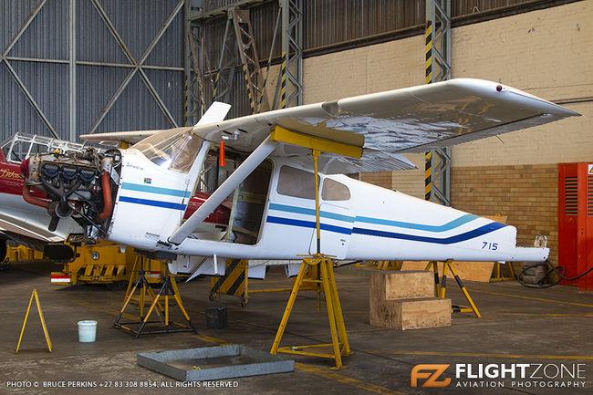 Cessna 185 Skywagon SAAF 715 Swartkops Air Force Base FASK