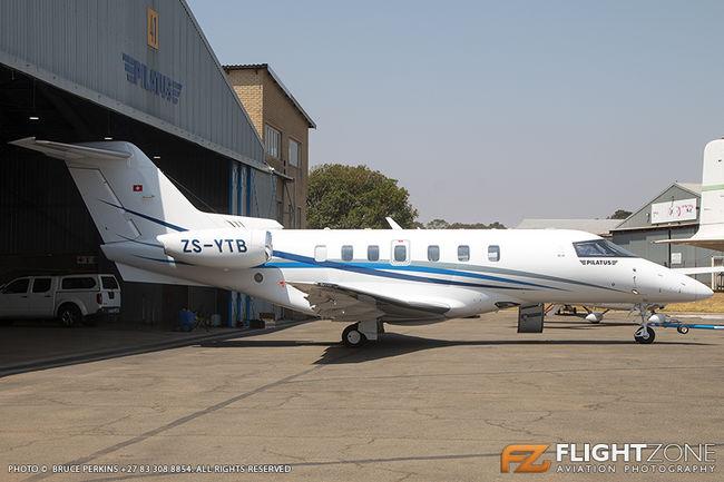 Pilatus PC-24 ZS-YTB Rand Airport FAGM