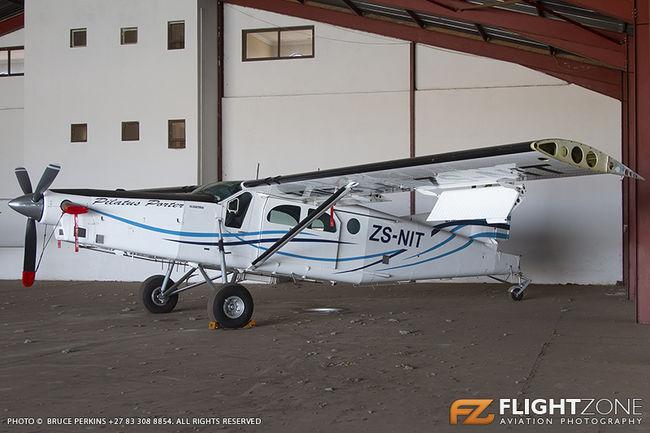 Pilatus PC-6 ZS-NIT Rand Airport FAGM SA Police