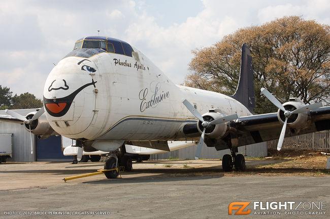 Aviation Traders ATL-98 Carvair 9J-PAA Rand Airport FAGM