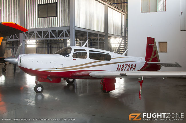 Mooney M20TN Acclaim N872PA Rand Airport FAGM