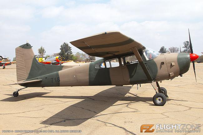 Cessna 185 Skywagon SAAF 718 Swartkops Air Force Base FASK