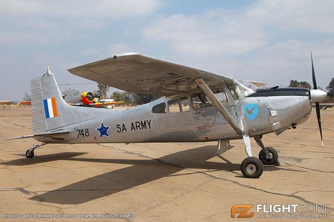Cessna 185 Skywagon SAAF 748 Swartkops Air Force Base FASK