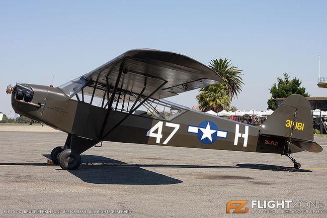 Piper L-4 Cub ZU-FLD Rand Airport FAGM
