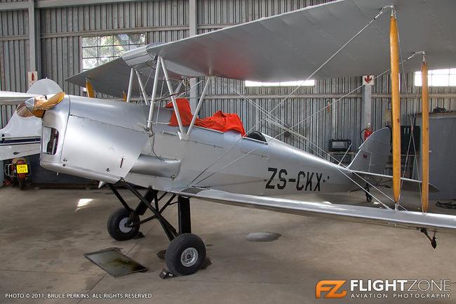 De Havilland DH-82A Tiger Moth ZS-CKX