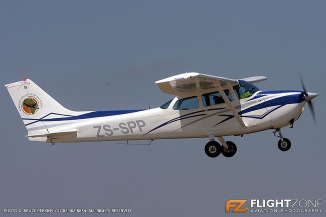 Cessna 172 Skyhawk ZS-SPP Rand Airport FAGM