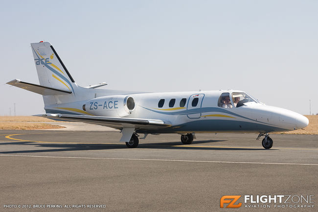Cessna 501 Citation ZS-ACE Rand Airport FAGM
