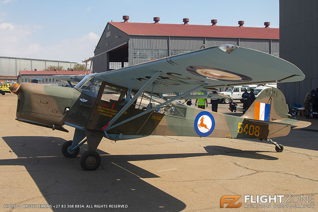 Auster ZS-ECW SAAF 5408 Swartkops Air Force Base FASK