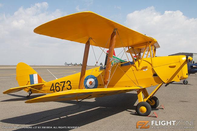 De Havilland DH-82A Tiger Moth ZS-BGP Swartkops Air Force Base FASK