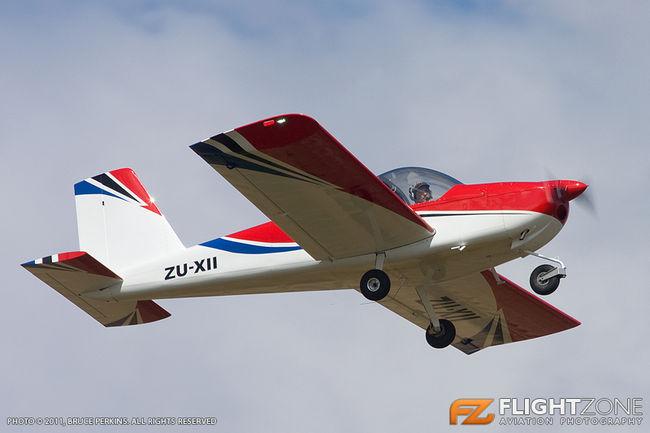 Vans RV-12 ZU-XII Tedderfield Airfield FATA