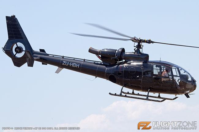 Aerospatiale SA-341 Gazelle ZU-HBH Brits Airfield FABS