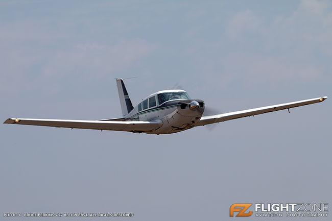 Piper PA-24 Comanche ZS-RWM Brits Airfield FABS