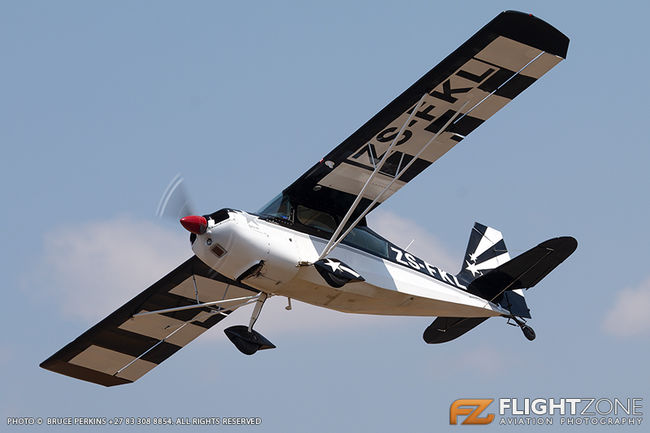 Citabria ZS-FKL Brits Airfield FABS