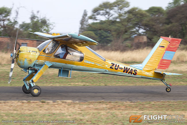 PZL PZL-104 Wilga ZU-WAS Brits Airfield FABS